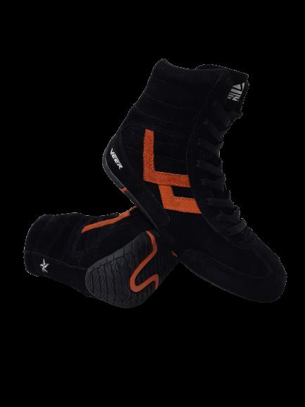 Incaltaminte Veer Black Orange 3