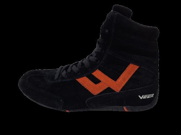 Incaltaminte Veer Black Orange 5
