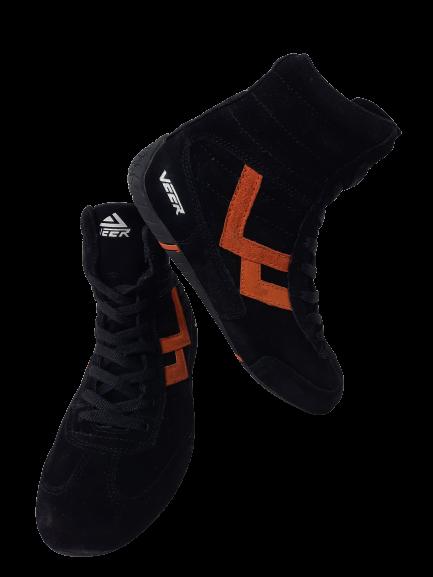 Incaltaminte Veer Black Orange 4