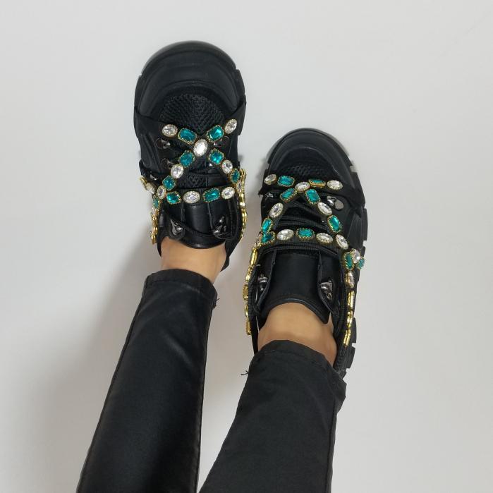 Incaltaminte Irina Black - Pantofi Sport 2