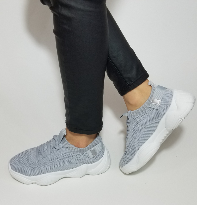 Incaltaminte Cameli Grey - Pantofi Sport 1