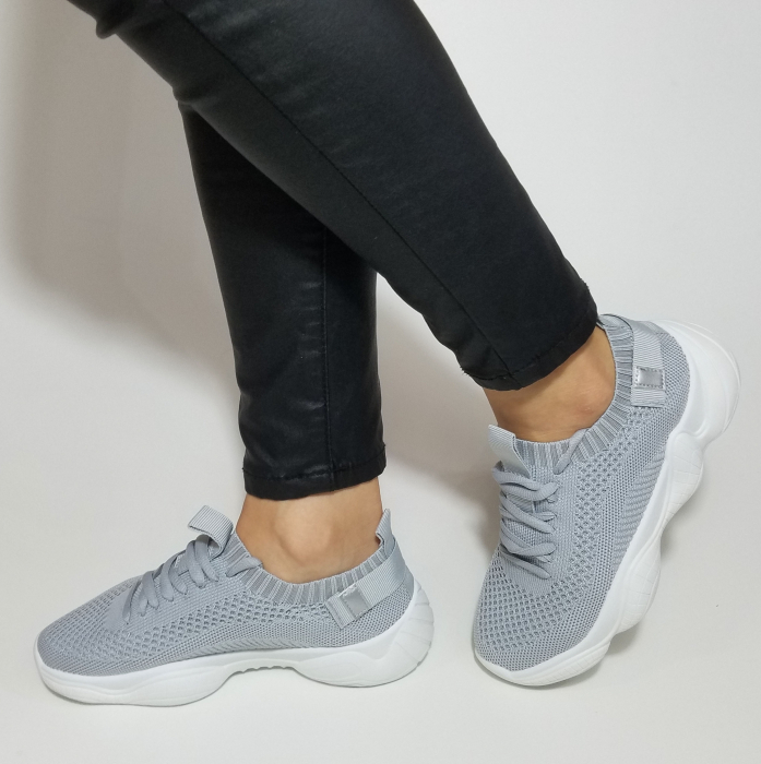Incaltaminte Cameli Grey - Pantofi Sport 2