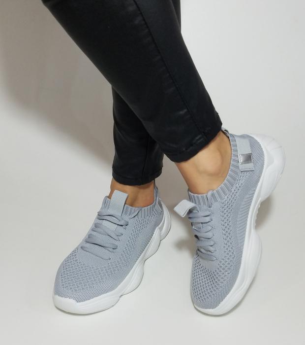 Incaltaminte Cameli Grey - Pantofi Sport 3