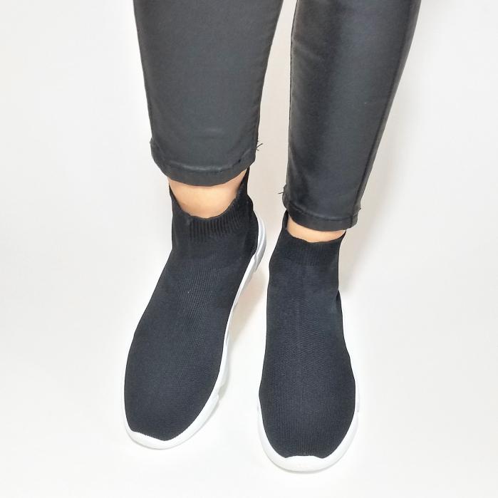 Incaltaminte Adina Black - Pantofi Sport 4