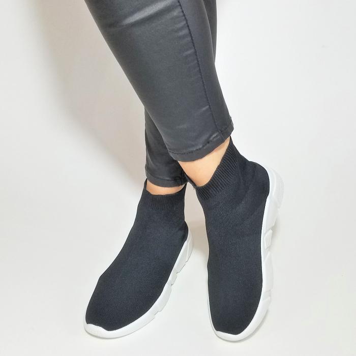 Incaltaminte Adina Black - Pantofi Sport 2