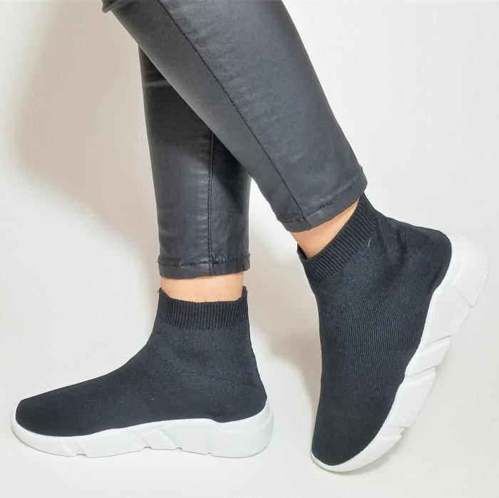 Incaltaminte Adina Black - Pantofi Sport 3