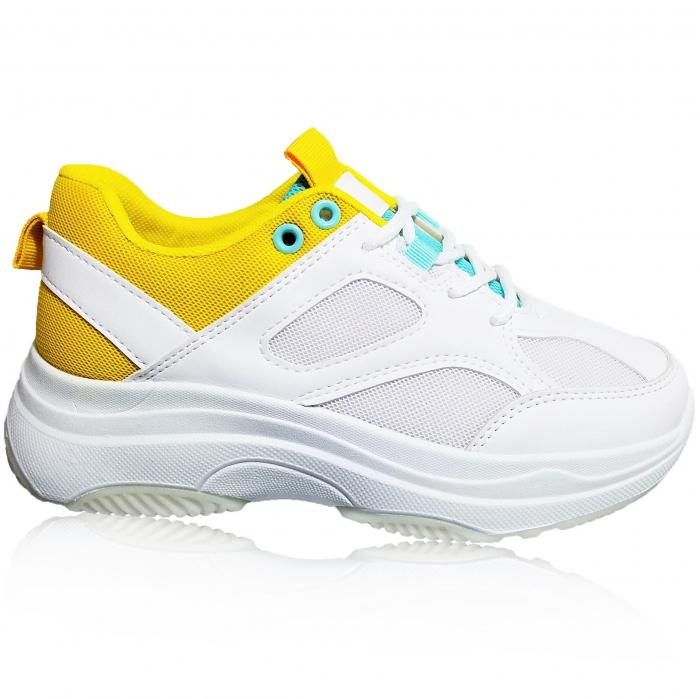Incaltaminte Kate Galben - Pantofi Sport 0