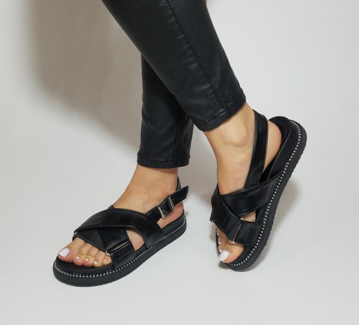 Incaltaminte Lora Black - Sandale [4]