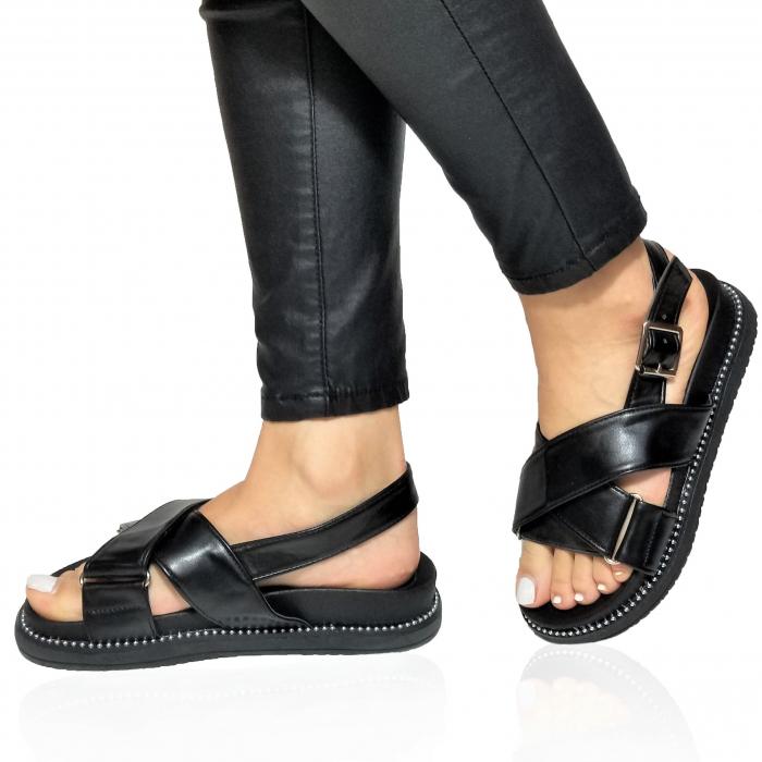 Incaltaminte Lora Black - Sandale [0]