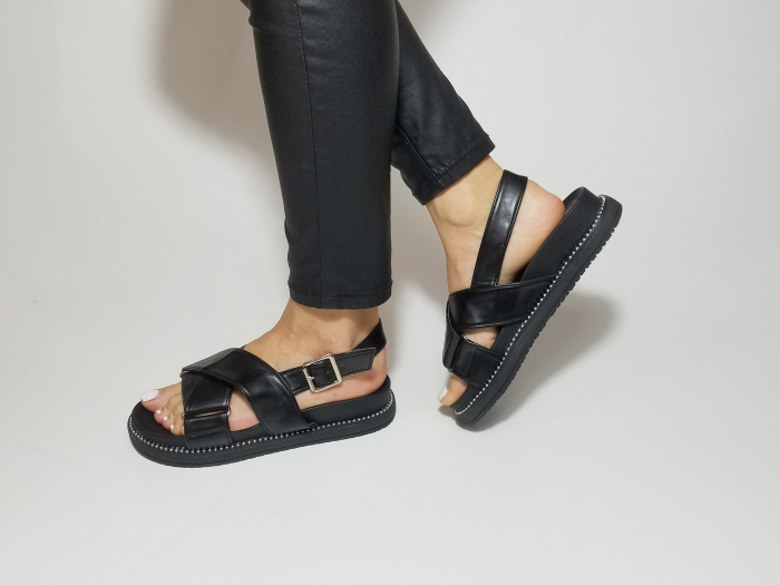 Incaltaminte Lora Black - Sandale [1]