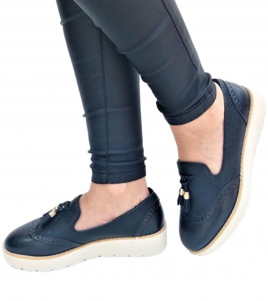 Incaltaminte Fallon Black - Pantofi [0]