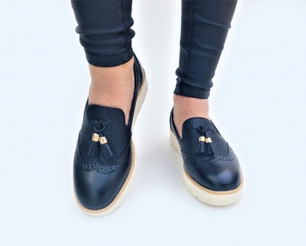 Incaltaminte Fallon Black - Pantofi [1]