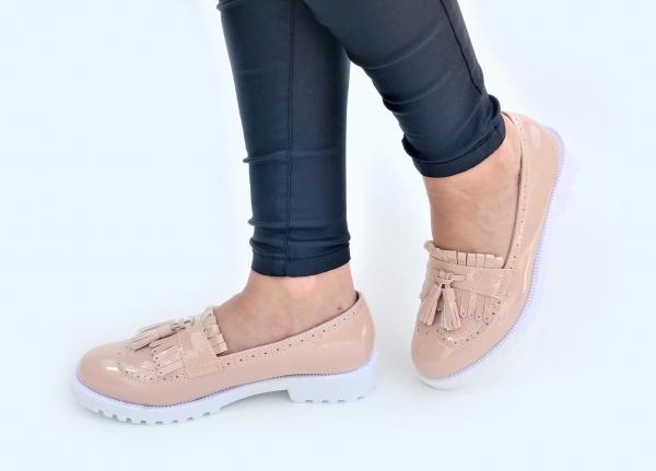 Incaltaminte Fallon Crem - Pantofi [2]