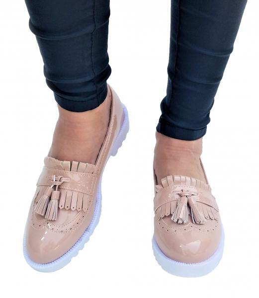 Incaltaminte Fallon Crem - Pantofi [0]