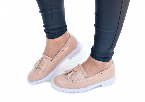 Incaltaminte Fallon Crem - Pantofi [1]