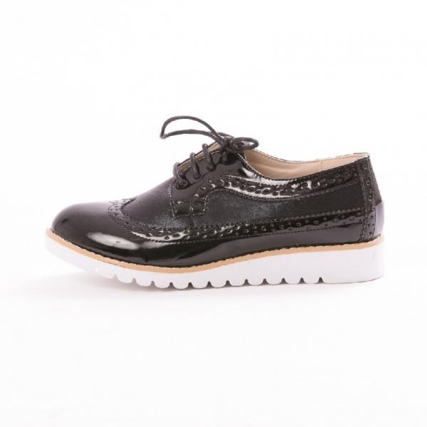 Incaltaminte Oxford Black - Pantofi 2