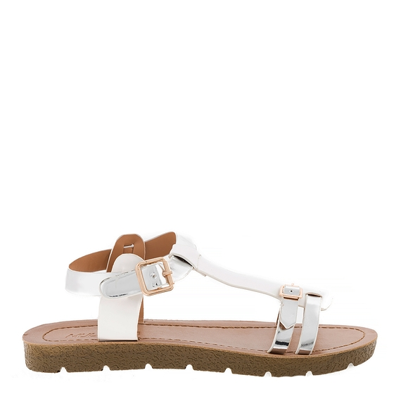 Incaltaminte Ellys White  - Sandale 6