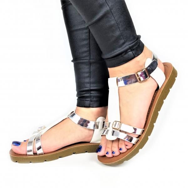 Incaltaminte Ellys White  - Sandale 0