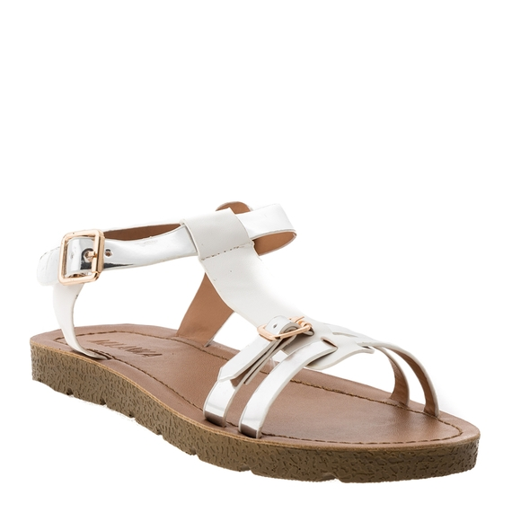 Incaltaminte Ellys White  - Sandale 4