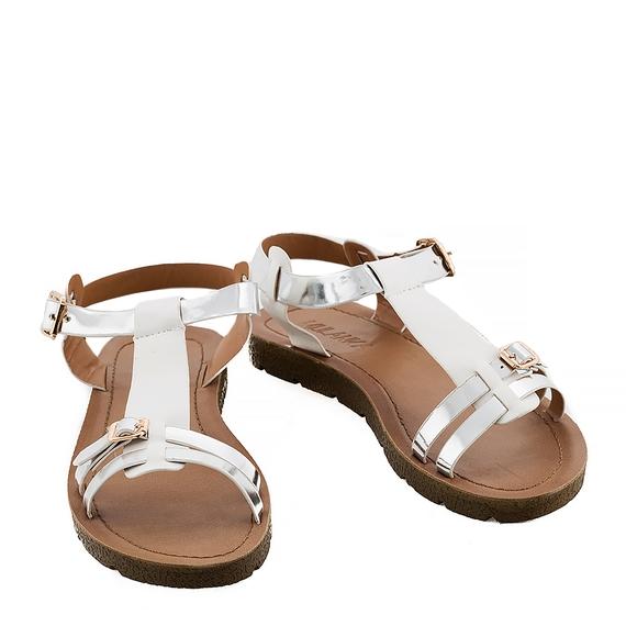 Incaltaminte Ellys White  - Sandale 5