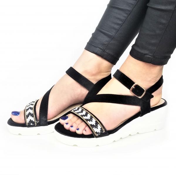 Incaltaminte Mendez Black - Sandale 0