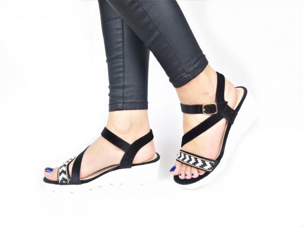 Incaltaminte Mendez Black - Sandale 2