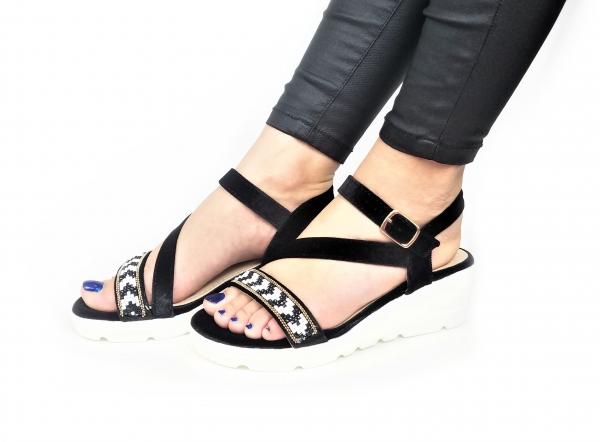 Incaltaminte Mendez Black - Sandale 1