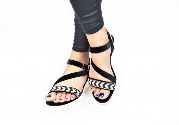 Incaltaminte Mendez Black - Sandale 3