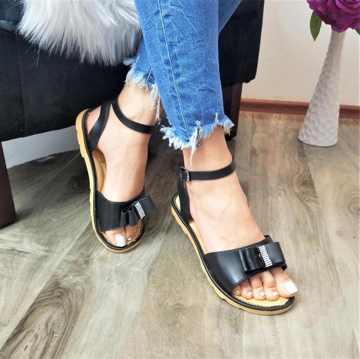 Incaltaminte Selly  Black - Sandale 0