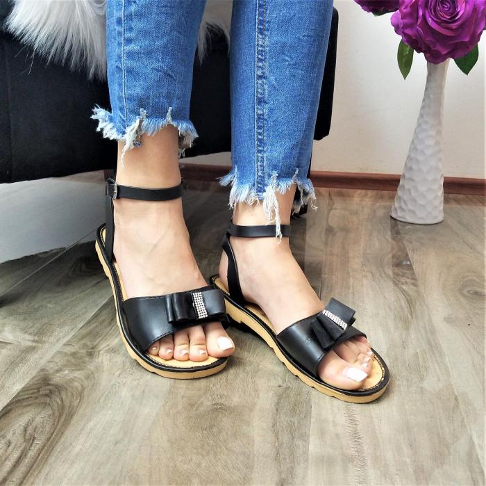 Incaltaminte Selly  Black - Sandale 1