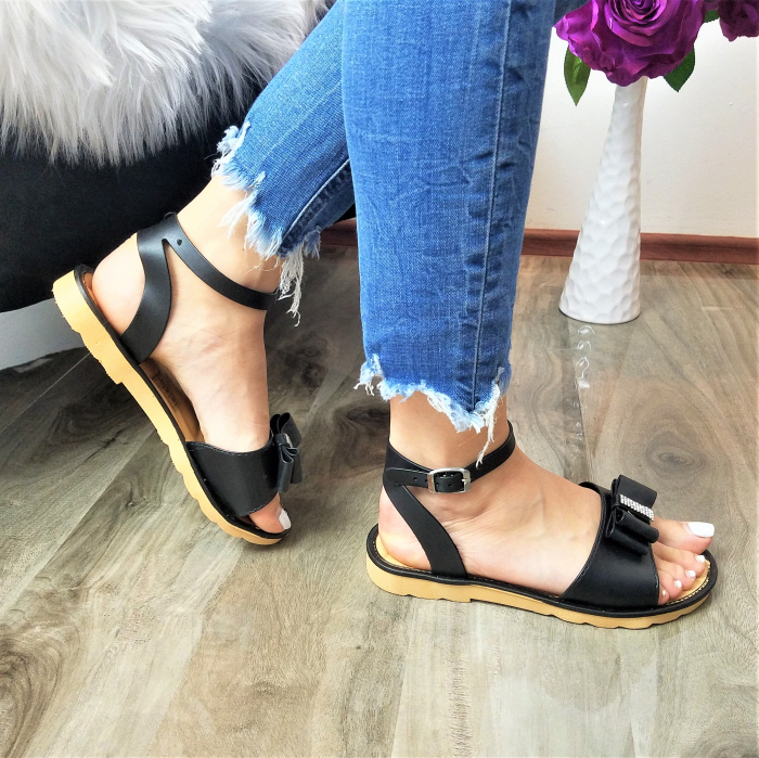 Incaltaminte Selly  Black - Sandale 2