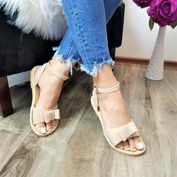 Incaltaminte Selly Crem - Sandale 0