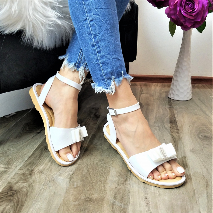 Incaltaminte Selly White - Sandale 0