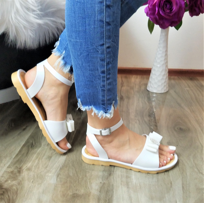 Incaltaminte Selly White - Sandale 1