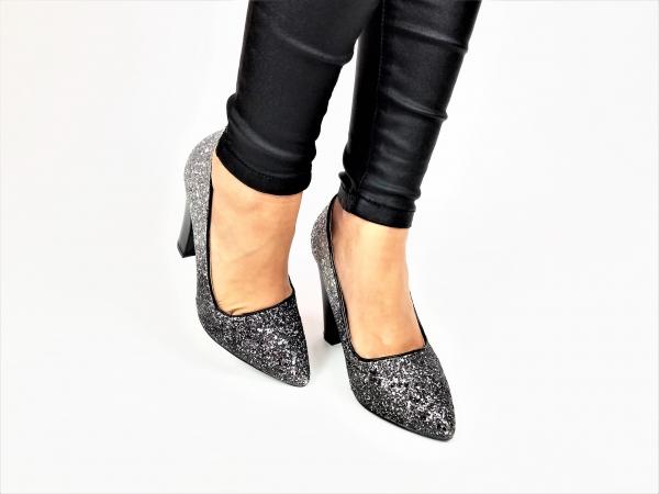 Incaltaminte Silver Glittery - Pantofi [3]