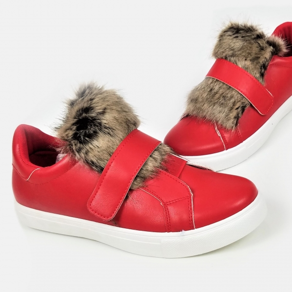 Incaltaminte Red Furry - Pantofi Sport 0