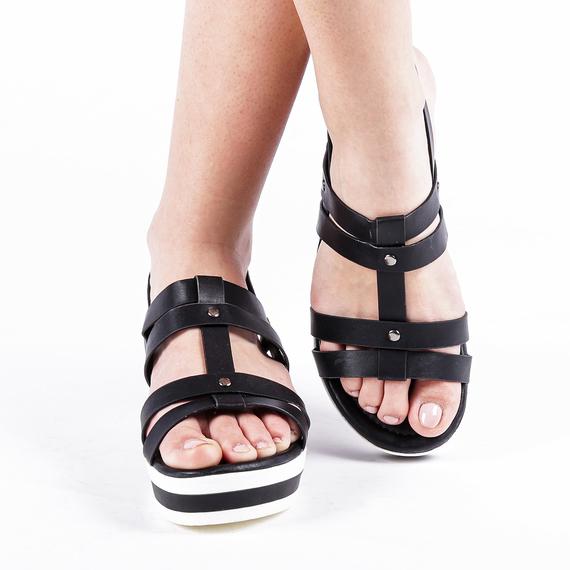 Incaltaminte Xena Black - Sandale 2