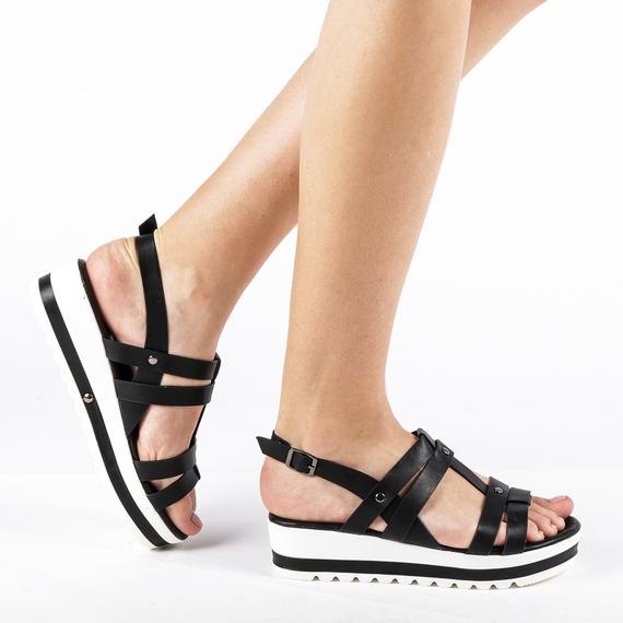 Incaltaminte Xena Black - Sandale 0