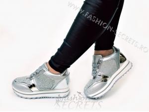 Incaltaminte Silver Precious - Pantofi Sport4