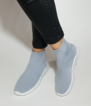 Incaltaminte Adina Grey - Pantofi Sport2