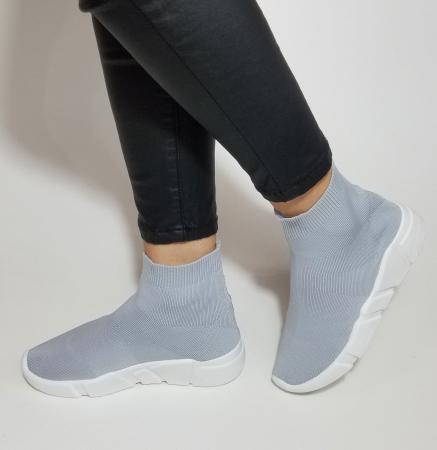 Incaltaminte Adina Grey - Pantofi Sport1