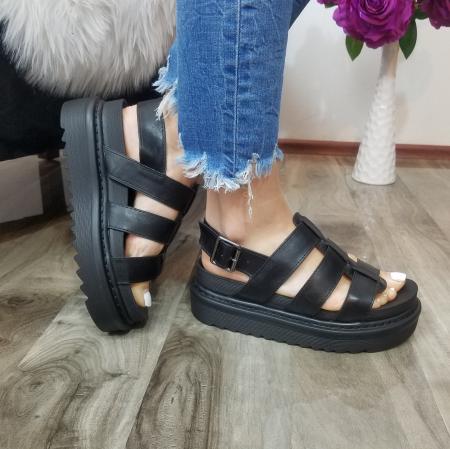 Incaltaminte Alka Black - Sandale2
