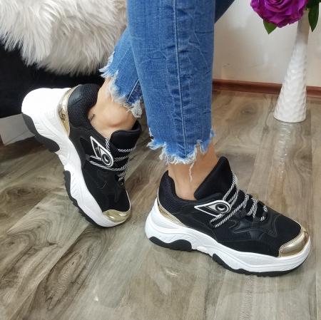 Incaltaminte Allegria Black - Pantofi Sport2