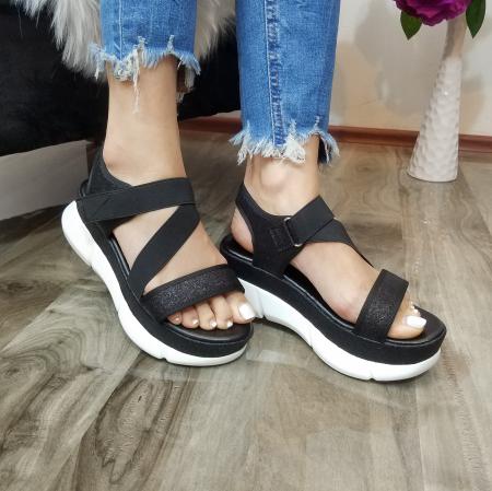 Incaltaminte Anca Black - Sandale2