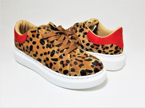 Incaltaminte Bonita Leopard - Pantofi Sport1