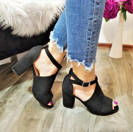 Incaltaminte Carlita Black - Sandale0