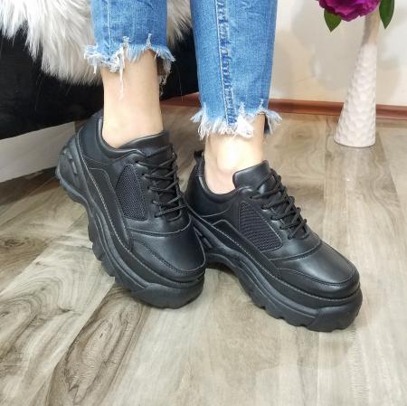 Incaltaminte Dalin Black - Pantofi Sport2