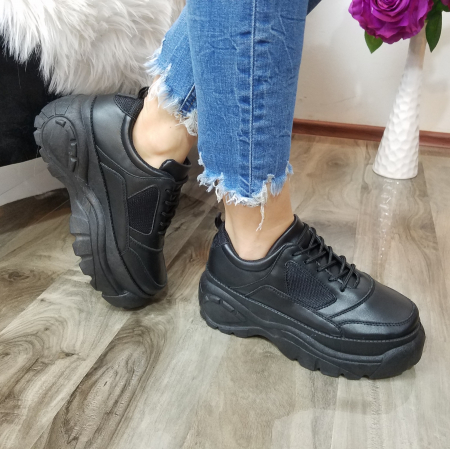 Incaltaminte Dalin Black - Pantofi Sport0