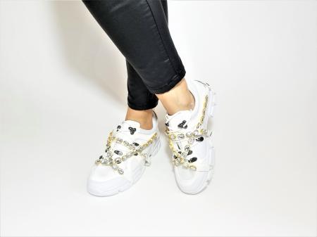 Incaltaminte Irina White - Pantofi Sport2