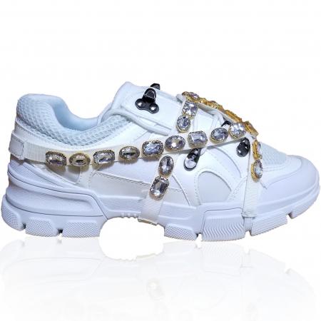Incaltaminte Irina White - Pantofi Sport0